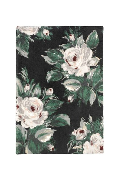 Picture of Cath Kidston Small Devonshire Rose Velvet Cover A5 Notebook