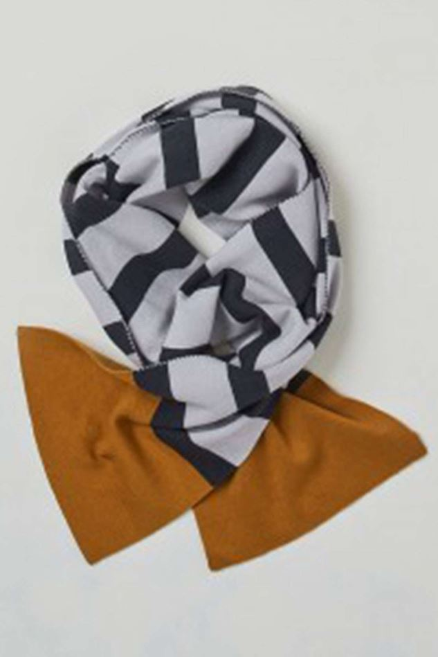 Picture of Thought Elford Striped Organic Wool Scarf