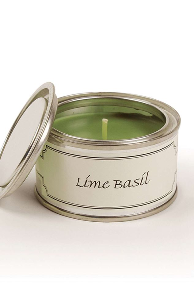 Picture of Pintail Lime Basil Filled Tin