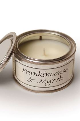 Picture of Pintail Frankincense and Myrrh Paint Pot Candle
