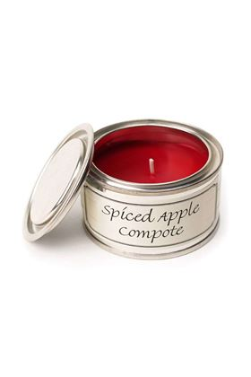 Picture of Pintail Spiced Apple Compote Filled Tin Candle