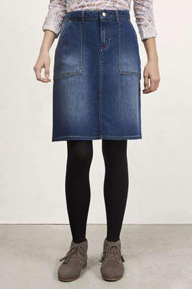Picture of White Stuff Carpenter Denim Skirt