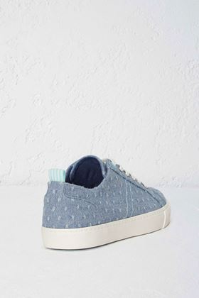 Picture of White Stuff Dee Denim Lace Up Trainer