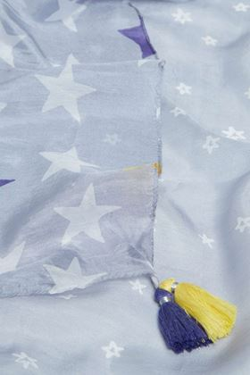 Picture of White Stuff Star Spangled Silk Scarf