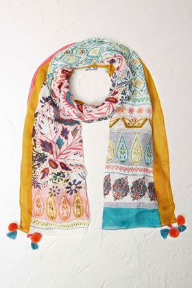 Picture of White Stuff Brooklyn Patchwork Scarf