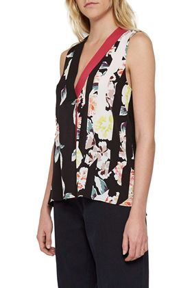 Picture of French Connection Enoshima Crepe Sleeveless Vest
