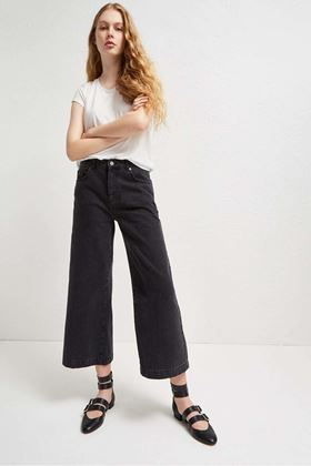 Picture of French Connection Dennery Denim Cropped Cone Jeans