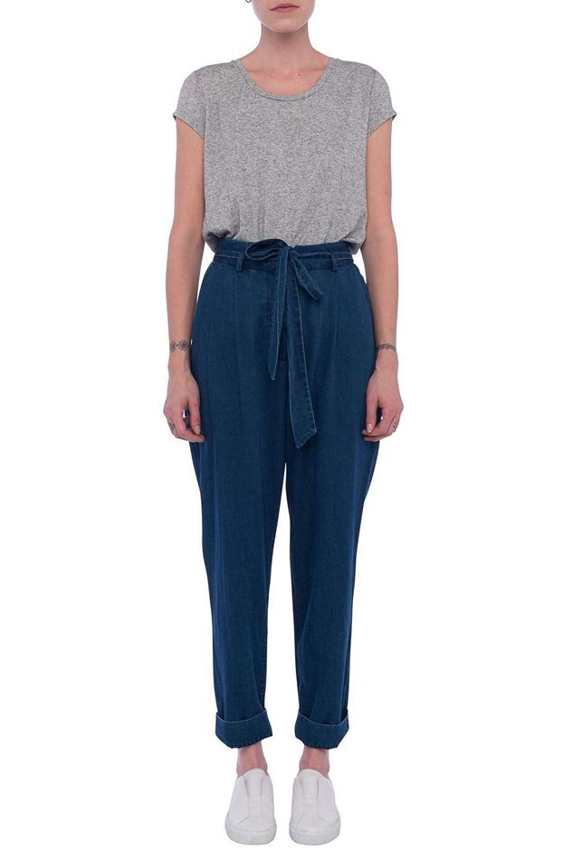 Picture of French Connection Geada Light Denim Belted Trousers