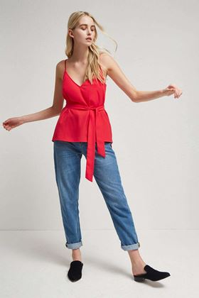 Picture of French Connection Dalma Strappy V Neck Top