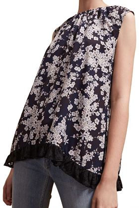 Picture of French Connection Rishiri Crepe Sleeveless Top