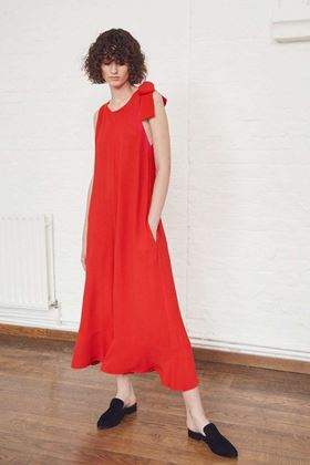 Picture of French Connection Hiva Crepe Flared Jumpsuit