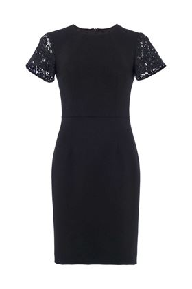 Picture of French Connection Whisper Ruth Round Neck Bodycon Dress