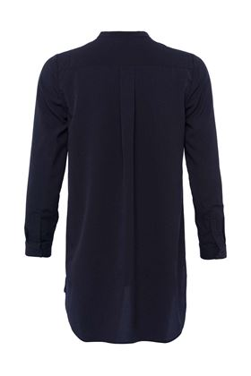 Picture of French Connection Classic Crepe Collarless Shirt