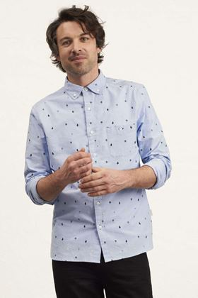 Picture of White Stuff Barstool Print Oxford Shirt