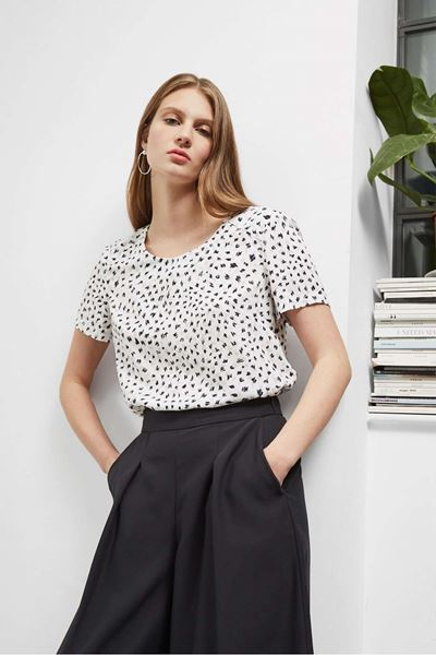Picture of Great Plains Summer Scribble Top