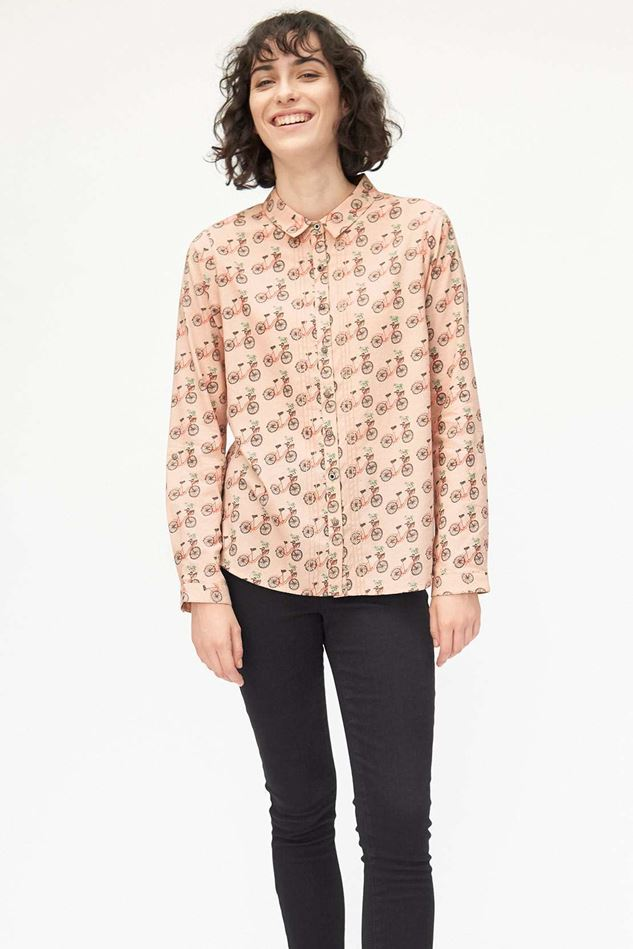 Picture of White Stuff Happy Days Print Shirt
