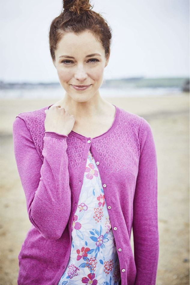 Picture of Lily & Me Pointelle Knit Cardi