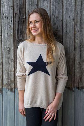 Picture of Luella Cashmere Star Jumper