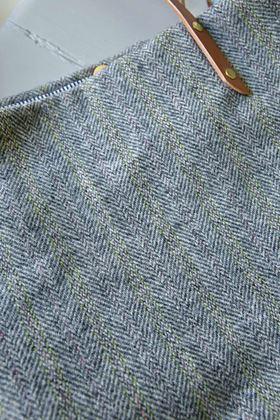 Picture of Harris Tweed Light Grey Tote Bag