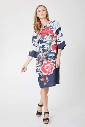 Picture of Thought Shonagon Tencel Printed Dress