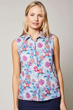 Picture of Lily & Me Sleeveless Full Bloom Shirt