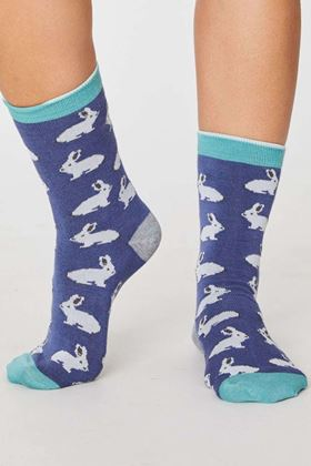 Picture of Thought Rabbit Socks