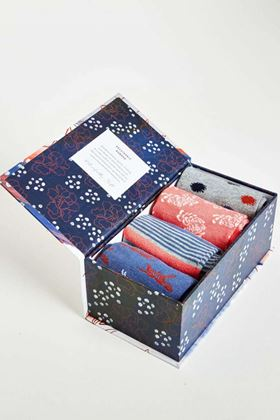 Picture of Thought Sashiko Socks Gift Box