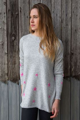 Picture of Luella Violet Cashmere Mix Jumper
