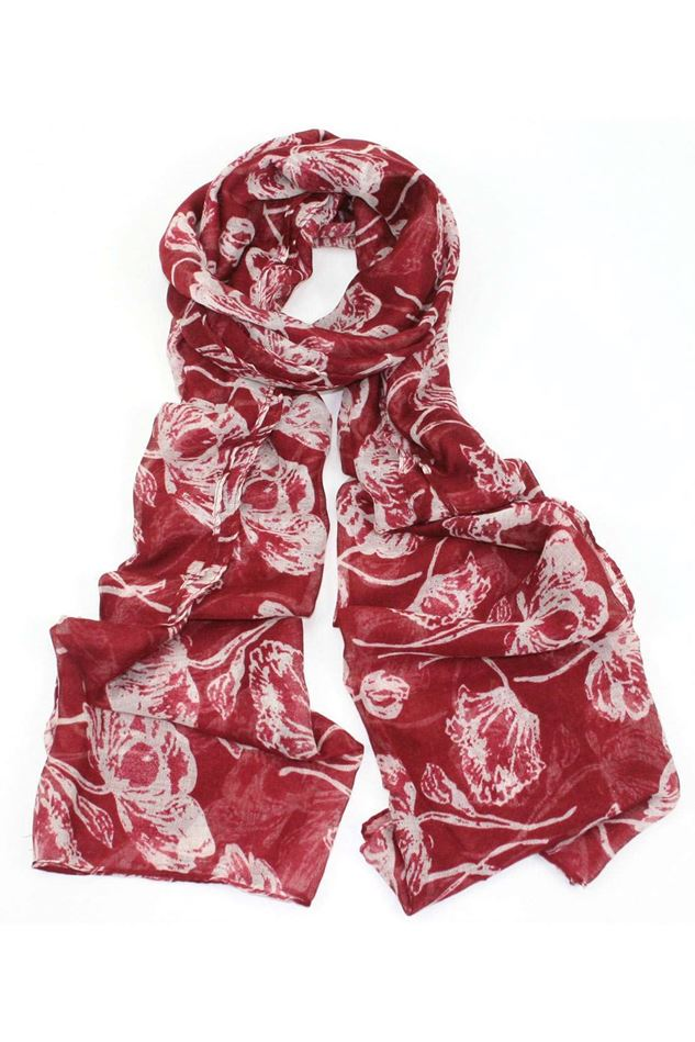 Picture of Poppy Floral Print Scarf