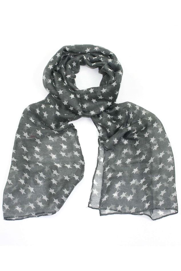 Picture of Poppy Star Print Scarf