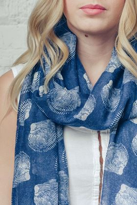 Picture of F&J Collection Shell Bay Scarf