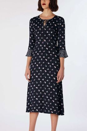 Picture of Cath Kidston Henley Ditsy Crepe Dress