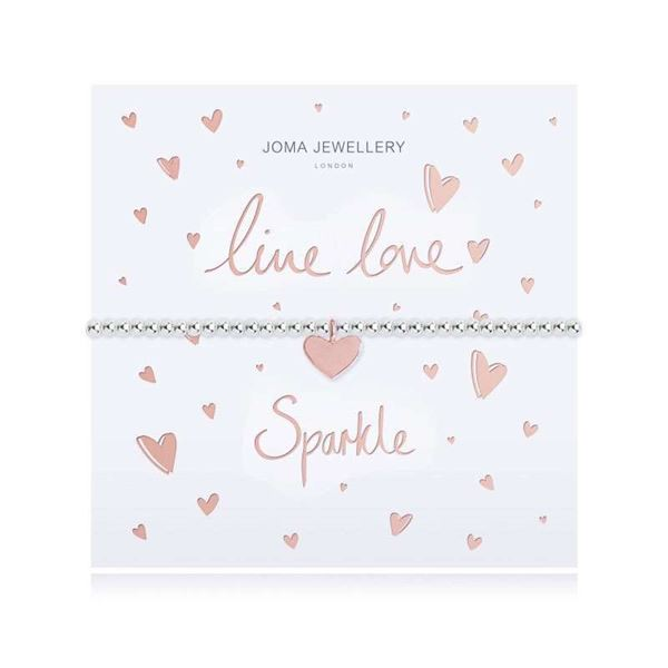 Picture of Joma Jewellery Live Love Sparkle Bracelet