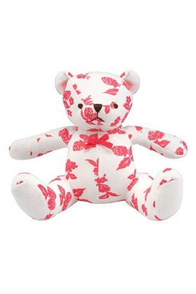 Picture of Cath Kidston Mono Strawberries Baby Teddy
