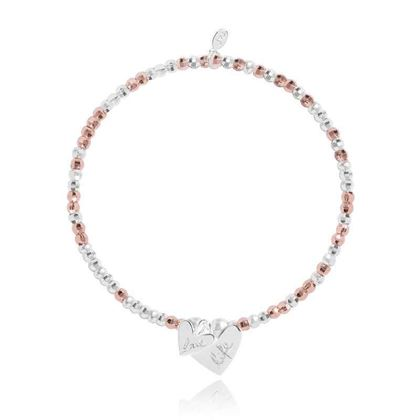 Picture of Joma Jewellery CACI Charms Love life bracelet