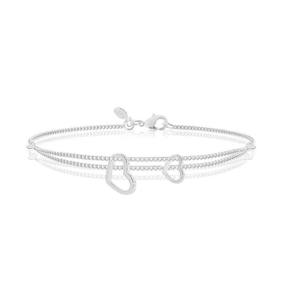Picture of Joma Jewellery ALYSSA Love Life Silver bracelet