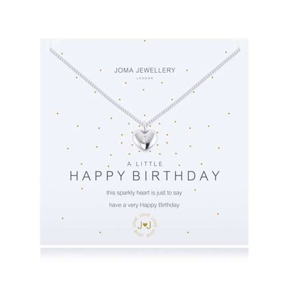 Picture of Joma Jewellery a little HAPPY BIRTHDAY necklace