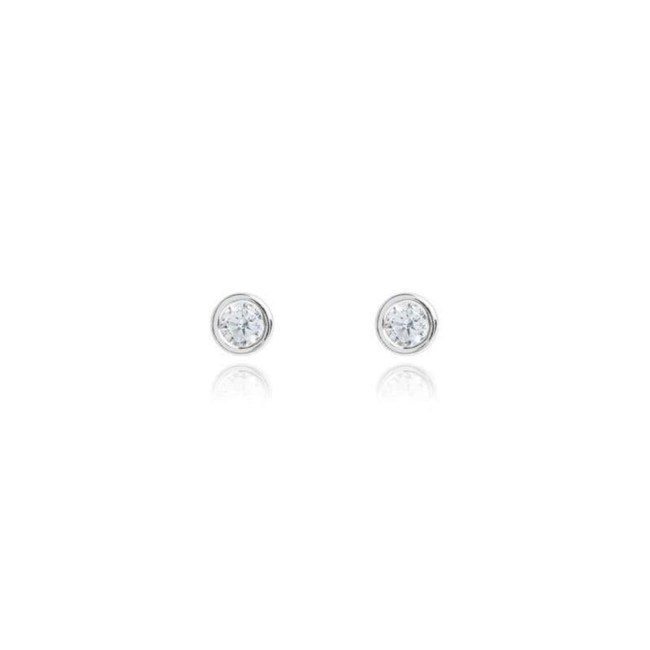 Picture of Joma Jewellery COCO silver crystal earrings