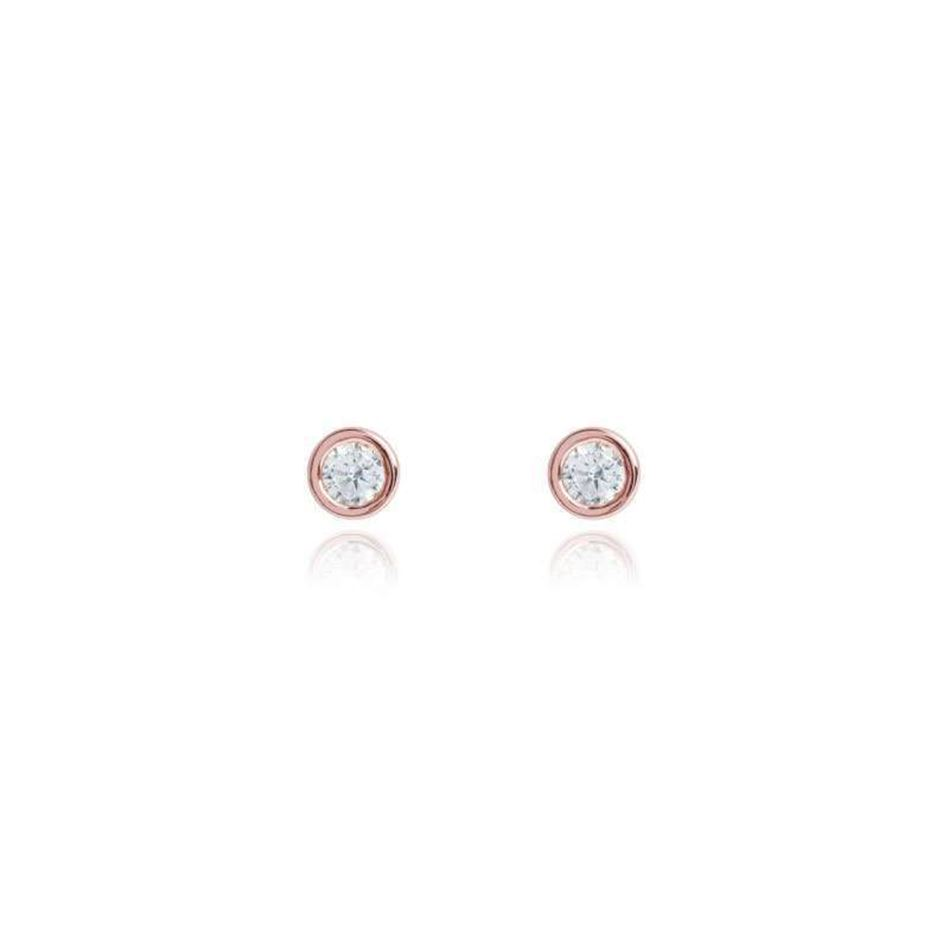 Picture of Joma Jewellery COCO Rose Gold crystal earrings