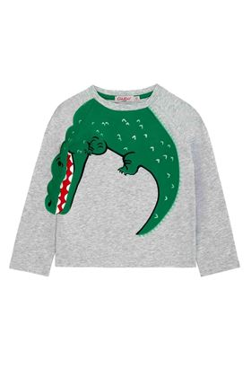 Picture of Cath Kidston Long Sleeve Crocodile T-shirt