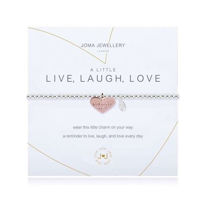 Picture of Joma Jewellery  a Little Live Laugh Love bracelet