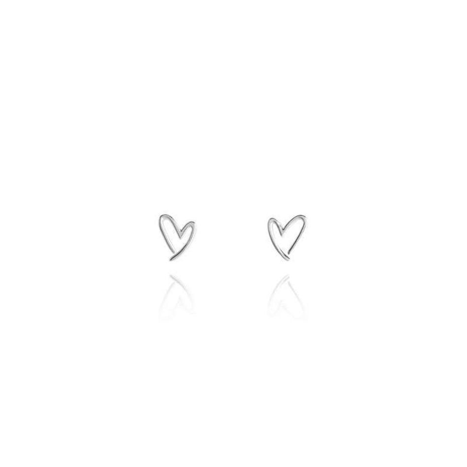 Picture of Joma Jewellery LORA earrings studs - Hearts