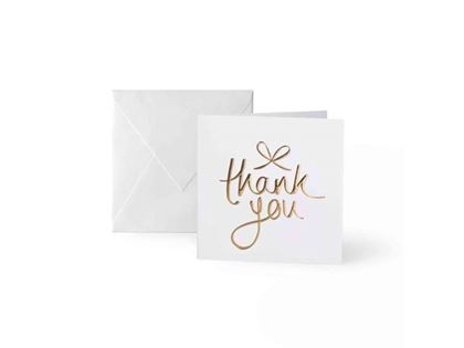 Picture of KATIE LOXTON MINI GREETING CARDS - THANK YOU - CONTAINS 8 CARDS