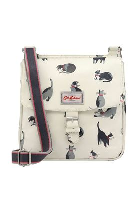 Picture of Cath Kidston Painted Cats Tab Saddle Bag