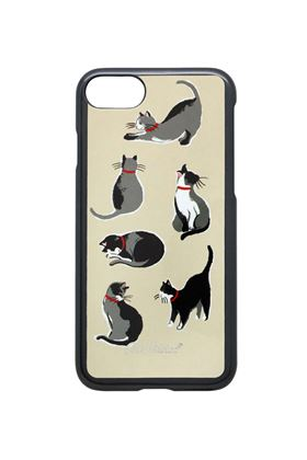 Picture of Cath Kidston Small Painted Cats iPhone 7 Case