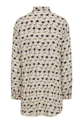 Picture of Muted Tones Shibori Silk Shirt