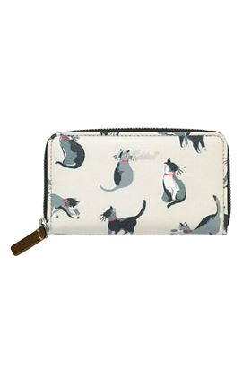Picture of Cath Kidston Small Painted Cats Small Continental Wallet