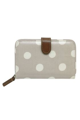 Picture of Cath Kidston Button Spot Folded Zip Wallet