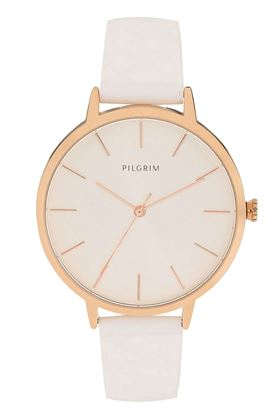 Picture of Pilgrim Aster Rose Gold Plated White Watch
