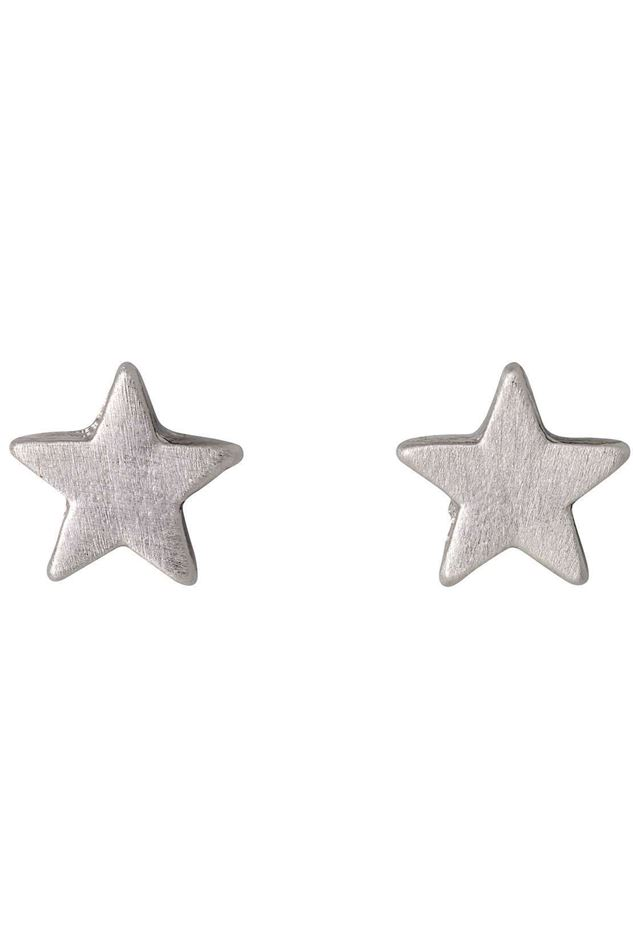 Picture of Pilgrim Classic Silver Plated Star Earrings